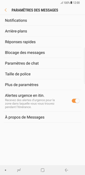 Samsung Galaxy S8 Plus - Android Oreo - SMS - Configuration manuelle - Étape 6
