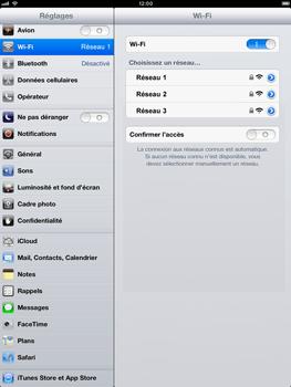 Apple iPad mini - WiFi - Configuration du WiFi - Étape 5