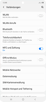 Samsung Galaxy A51 - Netzwerk - Manuelle Netzwerkwahl - Schritt 5