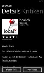 Nokia Lumia 820 / Lumia 920 - Apps - Installieren von Apps - Schritt 8