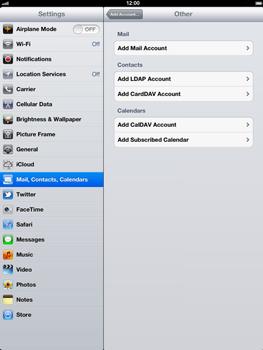 Apple The New iPad - E-mail - Manual configuration - Step 6