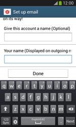 Samsung Galaxy Ace III - E-mail - manual configuration - Step 20