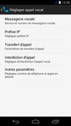 Acer Liquid Jade S - Messagerie vocale - configuration manuelle - Étape 7