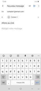 Samsung Galaxy A31 - E-mails - Envoyer un e-mail - Étape 9