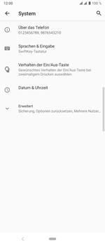 Sony Xperia 10 Plus - Fehlerbehebung - Handy zurücksetzen - Schritt 7