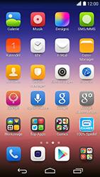 Huawei Ascend P7 - SMS - Manuelle Konfiguration - Schritt 4