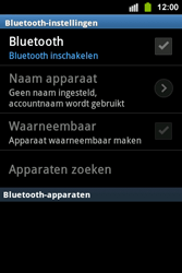 Samsung S5830i Galaxy Ace i - bluetooth - aanzetten - stap 6