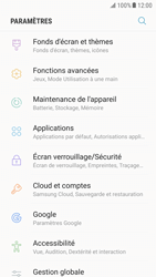 Samsung Galaxy S6 - Android Nougat - Applications - Comment désinstaller une application - Étape 4