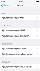 Apple iPhone 5s iOS 9 - E-mail - configuration manuelle - Étape 10