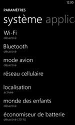 Nokia Lumia 625 - Internet et connexion - Activer la 4G - Étape 4
