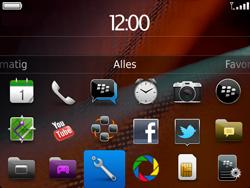 BlackBerry 9900 Bold Touch - Voicemail - Handmatig instellen - Stap 3