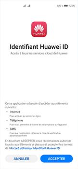Huawei P40 - Applications - Créer un compte - Étape 10