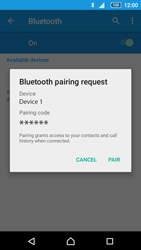 Sony Xperia Z5 - Bluetooth - Connecting devices - Step 7