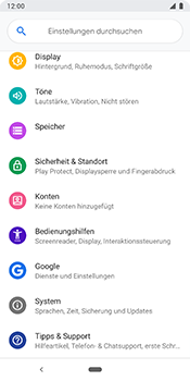 Google Pixel 3 - Fehlerbehebung - Handy zurücksetzen - Schritt 6