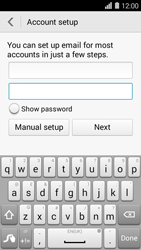 Huawei Ascend Y550 - E-mail - Manual configuration - Step 7