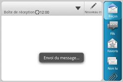 HTC A810e ChaCha - E-mail - Envoi d