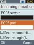 Samsung B2100 Xplorer - E-mail - Manual configuration - Step 19