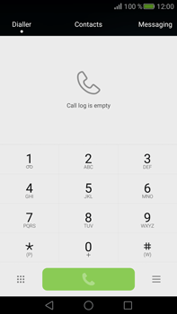 Huawei Mate S - Voicemail - Manual configuration - Step 3