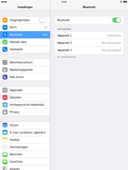 Apple iPad 4th generation (Retina) met iOS 7 - Bluetooth - Headset, carkit verbinding - Stap 7