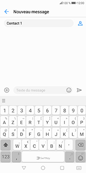 Huawei P Smart - Contact, Appels, SMS/MMS - Envoyer un SMS - Étape 7