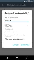Sony Xperia X - Internet et connexion - Partager votre connexion en Wi-Fi - Étape 9