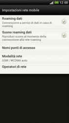 HTC One S - Internet e roaming dati - Disattivazione del roaming dati - Fase 6