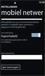 Nokia Lumia 800 - netwerk en bereik - gebruik in binnen- en buitenland - stap 5