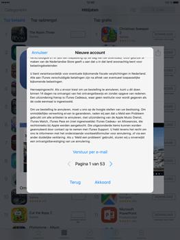 Apple iPad Mini 4 - Applicaties - Account aanmaken - Stap 9