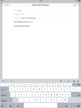 Apple iPad Pro - E-mail - E-mail versturen - Stap 8