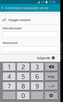 Samsung Galaxy Note Edge - e-mail - handmatig instellen - stap 13