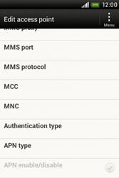 HTC A320e Desire C - MMS - Manual configuration - Step 12