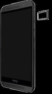 HTC One M9 - SIM-Karte - Einlegen - 2 / 2