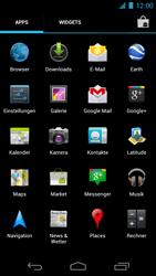 Samsung Galaxy Nexus - MMS - Manuelle Konfiguration - 3 / 14