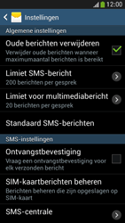 Samsung I9195 Galaxy S IV Mini LTE - SMS - SMS-centrale instellen - Stap 8