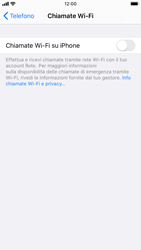 Apple iPhone 8 - iOS 13 - WiFi - Attivare WiFi Calling - Fase 6