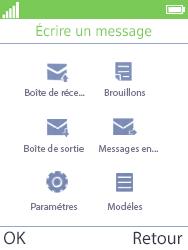 Mobiwire Doli - Contact, Appels, SMS/MMS - Envoyer un SMS - Étape 4