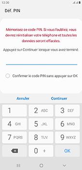 Samsung Galaxy J6 Plus - Sécurité - activéz le code PIN de l'appareil - Étape 8