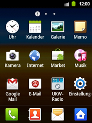 Samsung S5360 Galaxy Y - Ausland - Auslandskosten vermeiden - Schritt 5