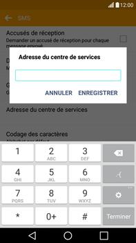 LG H365 G4 Stylus - SMS - configuration manuelle - Étape 9