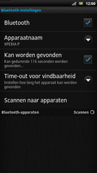 Sony LT22i Xperia P - bluetooth - aanzetten - stap 8