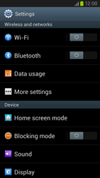 Samsung Galaxy S III LTE - Internet and data roaming - Manual configuration - Step 4