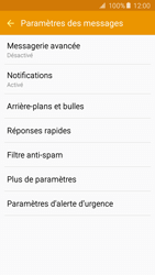 Samsung G903 Galaxy S5 Neo - SMS - configuration manuelle - Étape 6