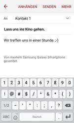 Samsung J120 Galaxy J1 (2016) - E-Mail - E-Mail versenden - Schritt 10