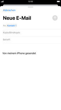 Apple iPhone 7 Plus - iOS 13 - E-Mail - E-Mail versenden - Schritt 6