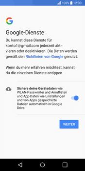 LG Q6 - E-Mail - Konto einrichten (gmail) - Schritt 11