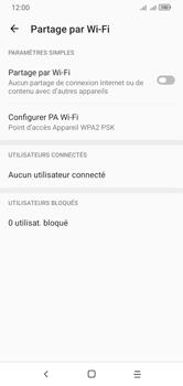 Alcatel 1S (2020) - Internet et connexion - Partager votre connexion en Wi-Fi - Étape 7