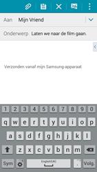 Samsung A500FU Galaxy A5 - e-mail - hoe te versturen - stap 9