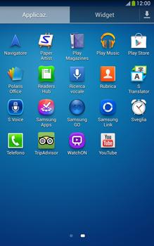 Samsung Galaxy Tab 3 8-0 LTE - Applicazioni - Configurazione del negozio applicazioni - Fase 3