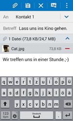 Samsung G388F Galaxy Xcover 3 - E-Mail - E-Mail versenden - Schritt 18