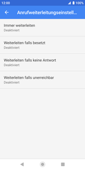Sony Xperia XZ2 - Android Pie - Anrufe - Rufumleitungen setzen und löschen - Schritt 9